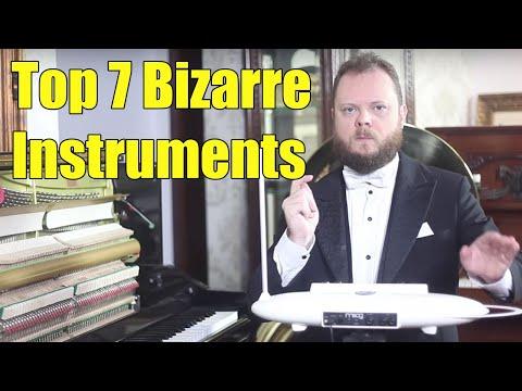 Top 7 Most Bizarre Musical Instruments of the World Vídeos de zueiras e brincadeiras: zuera, video clips, brincadeiras, pegadinhas, lançamentos, vídeos, sustos