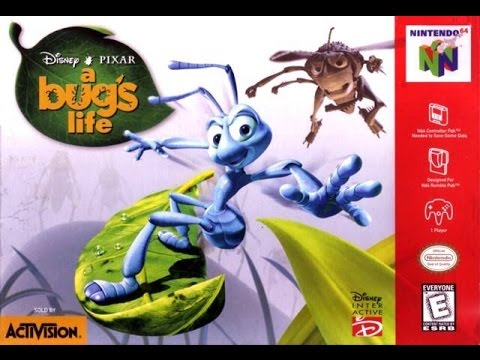 Let's Play A Bug's Life (N64) - Part 1: For Bored YouTubers Everywhere
