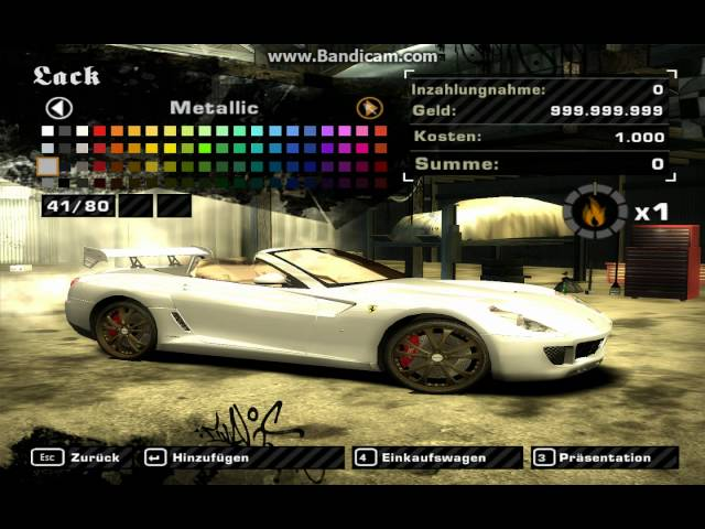 Need for Speed Most Wanted Geld Mit ArtMoney kostenlos cheaten взломать nfs most wan
