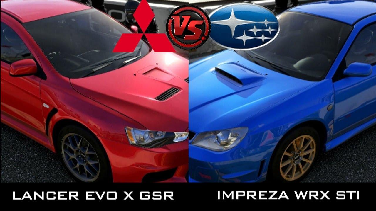 Mitsubishi evo vs subaru impreza top gear с русским переводом