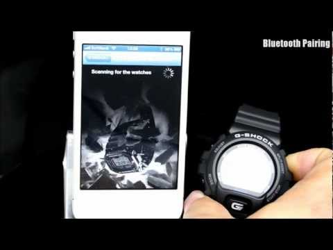 G-SHOCK GB-6900AA GB-5600AA with APPLE iPhone G-SHOCK+ operation instructions