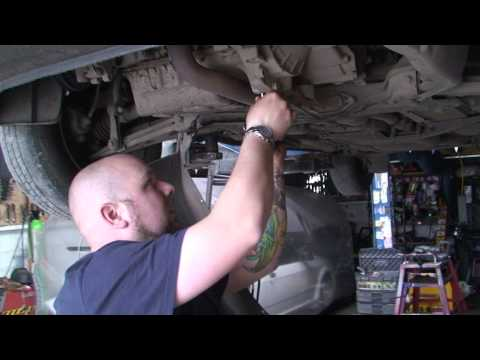 bodgit and leggit garage how to remove a car sump (vw golf 1.4 part 1)