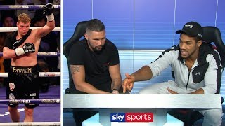 Anthony Joshua analyses HOW to beat Alexander Povetkin | Matchzone with Tony Bellew