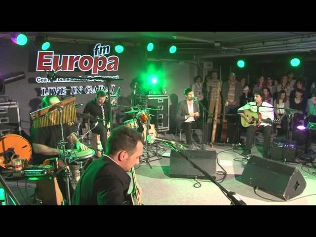 Vama Acoustic - Nu am chef azi LIVE in Garajul Europa FM