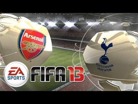 FIFA 13: ARSENAL vs TOTTENHAM HOTSPUR