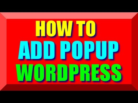 How To Add Popup In Wordpress- Best WP Plugin For Adding Time Delay Unblockable Exit Popup Ad Window