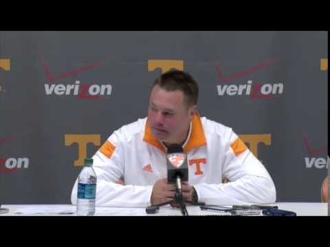 Butch Jones Post-Game Media Session After Florida (10/4/14)