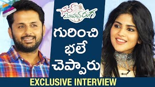 Nithiin and Megha Akash about Chal Mohan Ranga | Chal Mohan Ranga Movie Interview | Telugu FilmNagar
