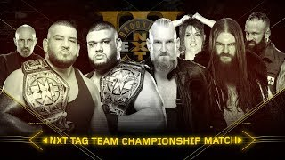 Relive the chaotic rivalry between SAnitY and The Authors of Pain: WWE NXT, Aug. 16, 2017