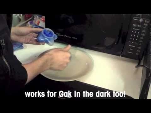 HOW TO USE NICKELODEON GAK- HOW TO FIX GAK- FIX CLUMPY, HARD, DRY GAK