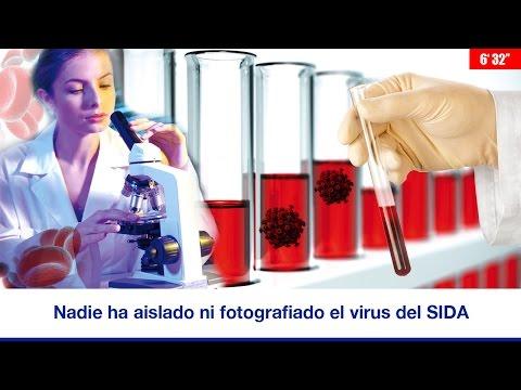 NADIE HA AISLADO Y FOTOGRAFIADO EL VIRUS DEL SIDA
