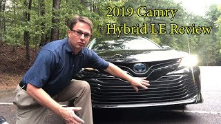 2019 Camry Hybrid LE Review and Test Drive