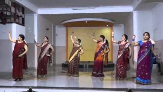 English Vinglish - Navrai Majhi - Dance Performance - english vinglish movie songs - (Garba Night) @ Foyer Apartment