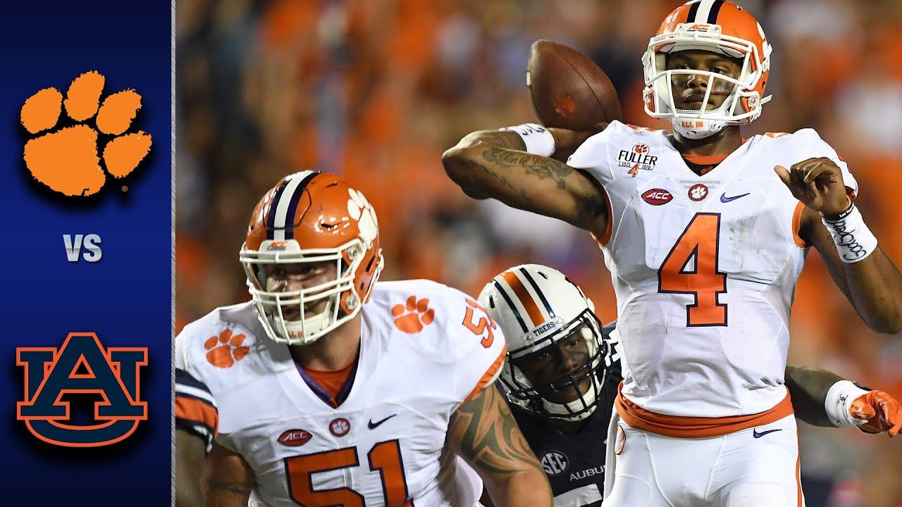 Clemson vs. Auburn Football Highlights (2016)