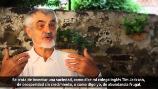 Serge Latouche Documental Decrecimiento
