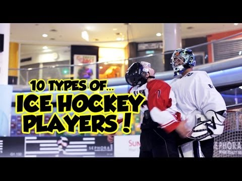 10 Types Of Ice Hockey Players