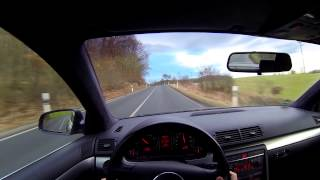 Audi A4 Ego Gopro Hero 3 black Test