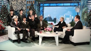 Ellen Makes 39 Friends 39 With Bts