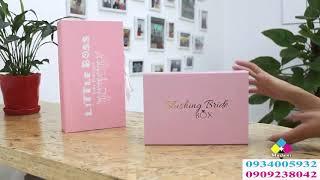 Shop chuyên làm hộp cứng cao cấp đựng quà tặng, quà biếu