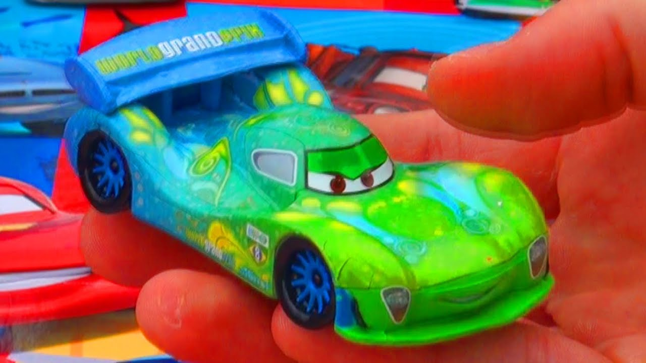 Cars 2 Carla Veloso Deluxe Figure Mattel Toys Disney Store Exclusive Pixar Race Car Play Toy ...