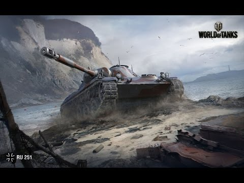 Spahpanzer Ru 251 Разведчик!  10kills  World of Tanks