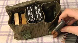 East German Military Surplus grenade holder - budget ammo pouch