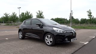 2015 Renault Clio 1.2 16v 75 Dynamique MediaNav Start-Up and Full Vehicle Tour