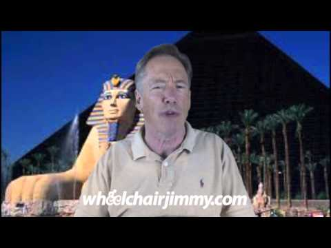 WheelchairJimmy.com Las Vegas Luxor Hotel and Casino