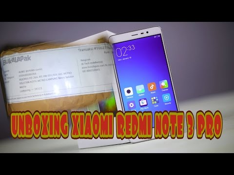 UNBOXING - Xiaomi Redmi Note 3 Pro dari seller Hi-Tech Mobile Shop (bukalapak)