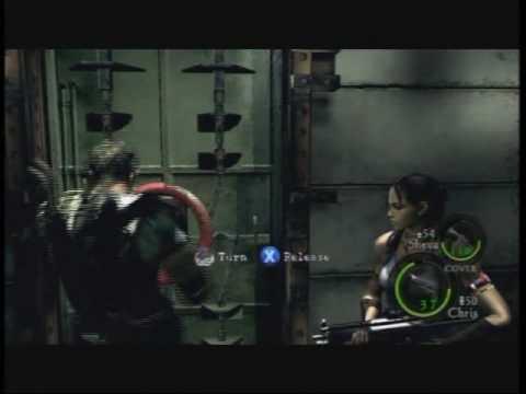 Resident Evil 5 Walkthrough Part 30 - Lickers...shit