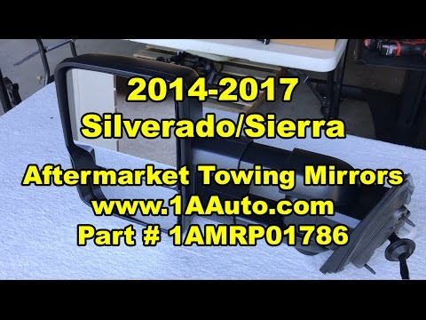 2014 - 2017 Silverado/Sierra:  Aftermarket Towing Mirror Upgrade Review - 1AMRP01786