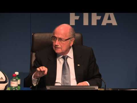 Sepp Blatter on his campaign to remain FIFA President