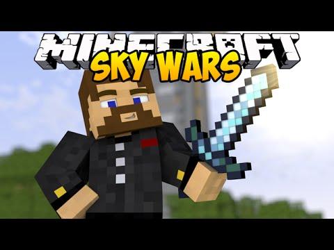 Первая битва Евгехи - Minecraft Sky Wars