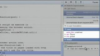 Google Chrome Extensions_ Developing and Debugging
