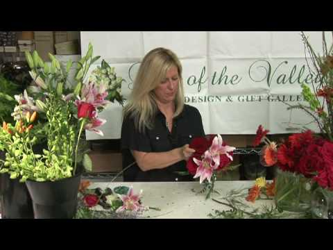 Wedding Flowers & Floral Arrangements : How to Make a Pink Rose Sphere Bridal Bouquet
