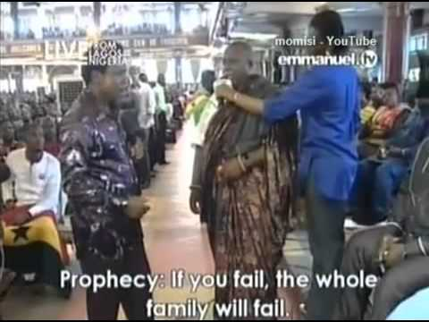 Prophet TB Joshua: Prophecy Time, Words of Knowledge, Mass Prayer, 24 Nov 13, Emmanuel TV, SCOAN