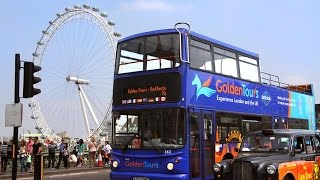 Hop-on-Hop-off London Sightseeing Bus tour , THE LONDON PASS, the UK by Goldentours(Classic Tour)