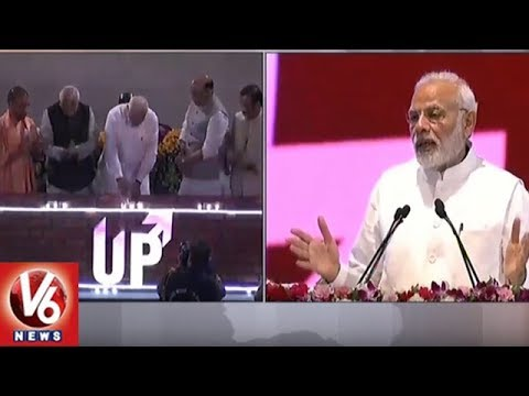 PM Modi Launches Projects Worth Rs 60,000 Crore in Lucknow | V6 News