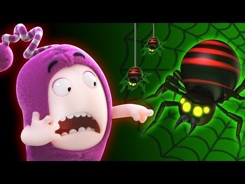 Giant Spider | Oddbods | Funny Cartoons For Kids | The Oddbods Show | Oddbods & Friends