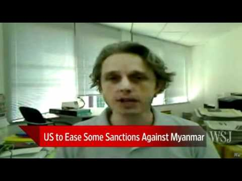 U.S. begins lifting Myanmar sanctions