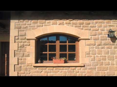 Revestimiento y Restauración fachadas en Piedra Natural - Obras de www.Olnasa.com