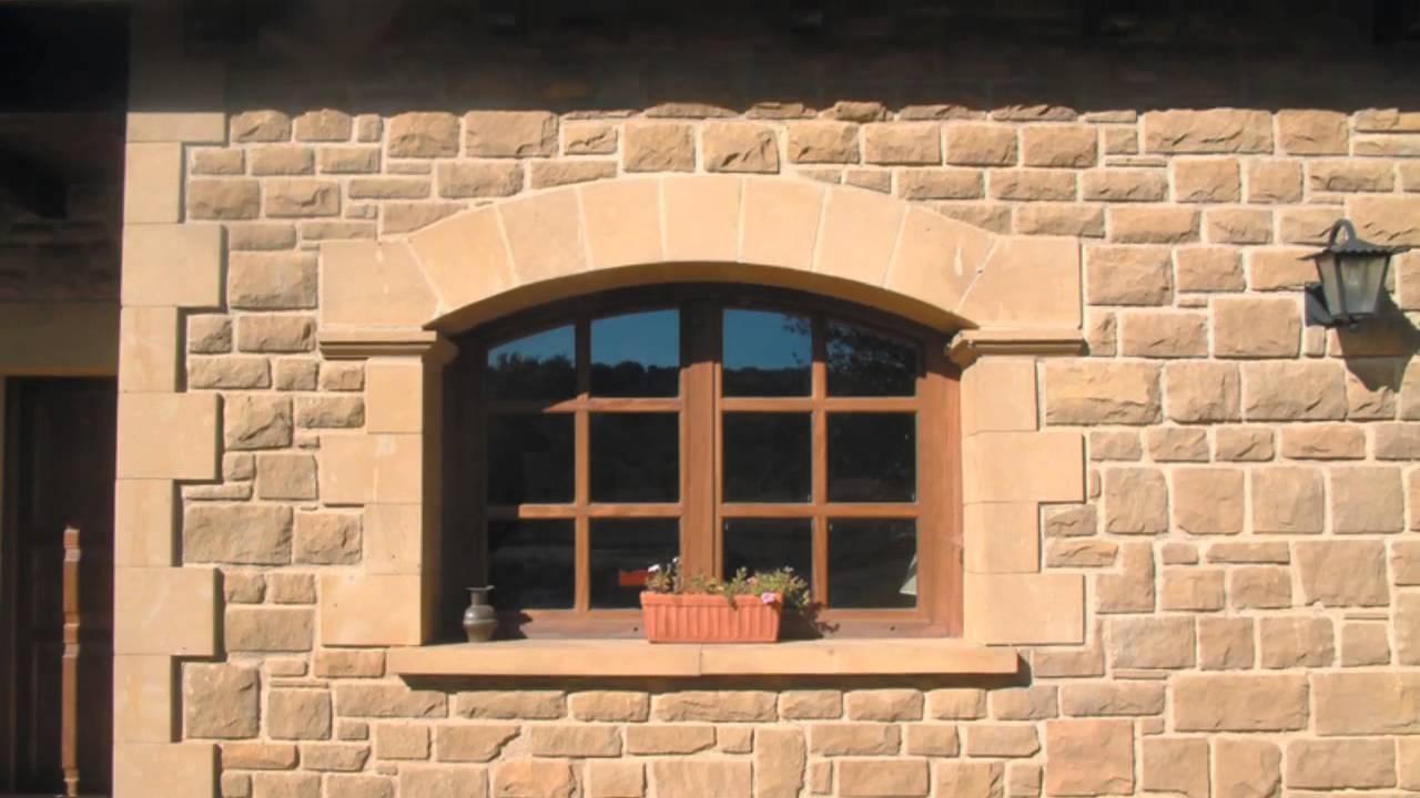 Revestimiento y restauraci n fachadas en piedra natural for Revestimiento de ladrillo decorativo