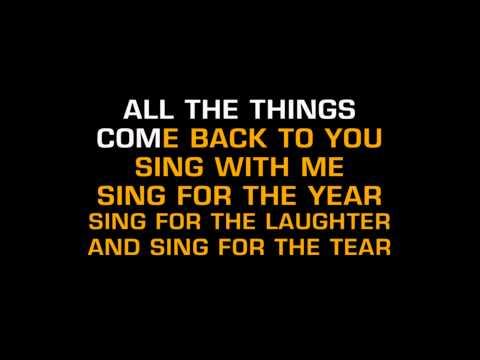 Aerosmith Dream On Karaoke (par Matrix6125).