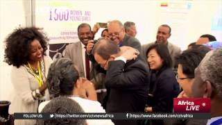 Ban Ki-Moon visits grass roots project empowering Ethiopian women