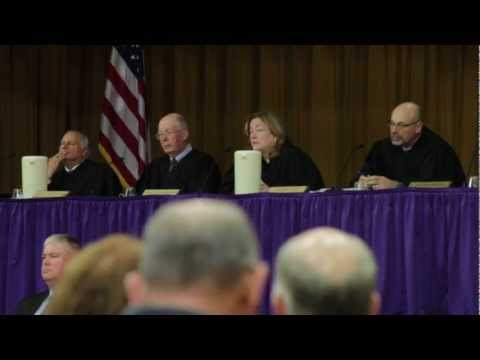 State Supreme Court Visits Bucksport High School