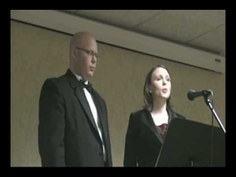 Brother & Sister sing The Prayer