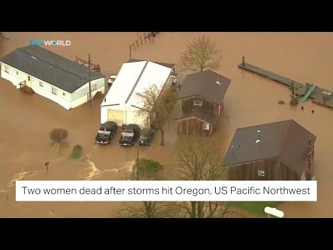TRT World: Two women dead following storms in Oregon, US