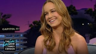 Brie Larson Helps Billy Bob Thornton & Jack Whitehall Pick Spirit Animals