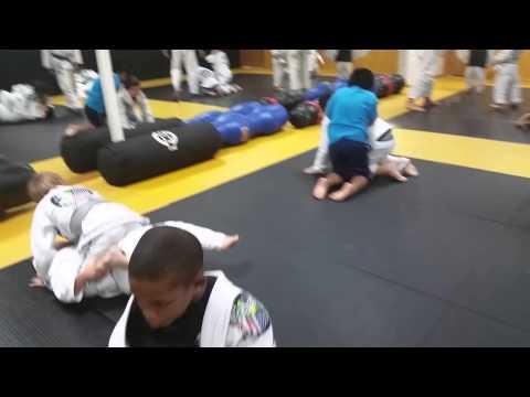 Kids BJJ Training 2
