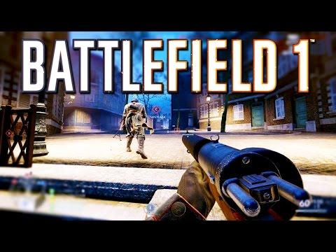 Battlefield 1: New City Night Map Prise de Tahure Gameplay!